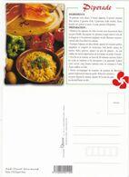 Recette De Cuisine: PIPERADE  Edit: N° 003302 (Sud-Ouest Gourmand) Cliché: P.G.Edgard Rosa   Neuve - Ricette Di Cucina