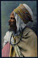 Algérie Biskra Arabe Portrait Photo Couleur Costume Homme Tribu écrite Le 23 10 1939 TB V. Explic - Scene & Tipi