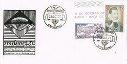 37653. Carta BARCELONA 1971. Salon SONIMAG 9, Sonido E Imagen - 1931-Aujourd'hui: II. République - ....Juan Carlos I