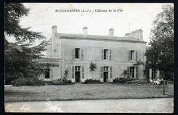 Saint Colombin 44 Château De La Noë Nantes Carte Rare Cad 05 09 1927 TB Texte En Rapport Avec La Demeure V. Explic - Other Municipalities