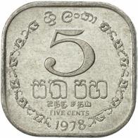 Sri Lanka 5 Cent 1978 - Sri Lanka