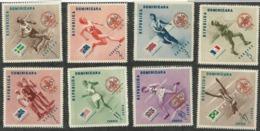 NEW PRICE - DOMINICAN REPUBLIC; BOY SCOUTS, OLYMPIC GAMES - Verano 1956: Melbourne