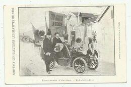 Vesoul (70 - Haute Saône) Souvenir Des Elections Législatives De 1906 . Lendemain D'élection - L'Automobile - Vesoul