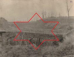 Photo 14-18 LONGWY - Les Ruines D'un Pont (A224, Ww1, Wk 1) - Longwy