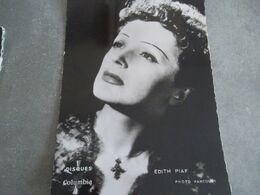 EDITH PIAF - Entertainers