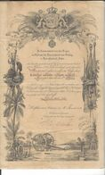 "Indes Néerlandaises Batavia 1912 Nederlandsch Indie  "" Je Maintiendrai ""  ( Pays - Bas , Militaria ) - Documents"