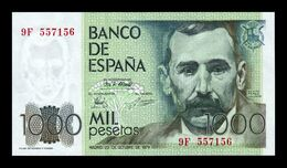 España Spain 1000 Pesetas Pérez Galdos 1979 Pick 158r Serie 9F Replacement SC UNC - [ 4] 1975-… : Juan Carlos I