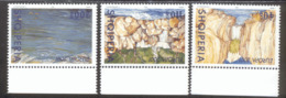 CEPT Lebensspender Wasser Albanien 2809 - 2811 ** MNH Postfrisch - 2001