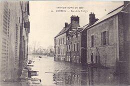Inondation De 1910 Corbeil Essonne, Rue De La Tuilerie - Corbeil Essonnes