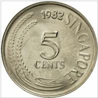 SINGAPOUR : 5 CENTS 1982 - Singapore