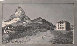 Zermatt  Hôtel Du Lac Noir - Cervin -  14 Juillet 1865 Accident Cailler 73 Chocolat Au Lait - Texte Au Dos  (~10 X 6 Cm) - Nestlé