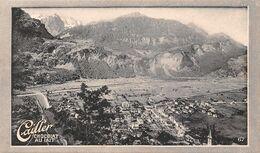 Meiringen 4868 Hab. Incendies 1879 Et 1891 Wellhorn Wetterhorn  Cailler 67 Chocolat Au Lait - Texte Au Dos  (~10 X 6 Cm) - Nestlé