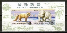 Korea North 1996 Corea / Fauna Arctic Animals Mammals MNH Säugetiere Mamíferos / Cu17018  10-11 - Non Classificati