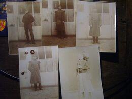 76    LE HAVRE   FORT De TOURNEVILLE   ( Lot De 22  Photos, Cartes-photos,plaque Photographique)   1904 - Guerra, Militares