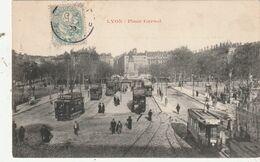 69 Lyon. Tramways Place Carnot - Lyon