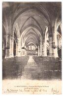 Montdidier Interieur De L'eglise Saint Pierre Circulee En 1914 - Montdidier
