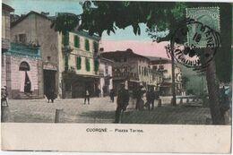 CUORGNE (PIEMONTE) - PIAZZA TORINO - Italia