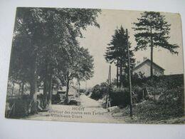 Ancien  Carte  Postale  De  Hody  Carefour Des  Routes Vers Tavier  Et  Villers Aux Tours - Altri