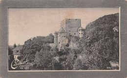 Château D'Angenstein Birse Thierstein Détruit En 1356 Séisme  Cailler 89 - Chocolat Au Lait - Texte Au Dos  (~10 X 6 Cm) - Nestlé