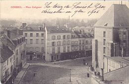 Corbeil Essonne, Place Galignani - Corbeil Essonnes