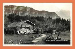 A708 / 119 74 - Sur La Route Des Aravis - Francia