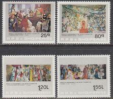 Albania 1983 - Paintings, Mi-Nr. 2186/89, MNH** - Albania