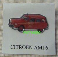 CITROEN AMI 6 Des SAPEURS POMPIERS De L' INDRE - Citroën