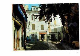 Cpm - [83] Var > Cotignac - Cours Gambetta - 1974 - Magasin ALIMENTATION COIFFEUR BOULANGERIE PÂTISSERIE - Cotignac