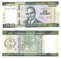 Liberia - 100 Dollars 2017 UNC Lemberg-Zp - Liberia