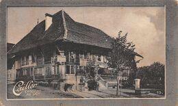Winhuss Münsingen Bern Cabaret - Hospice Des Aliénés 1895   - Cailler 13 - Chocolat Au Lait - Texte Au Dos  (~10 X 6 Cm) - Nestlé