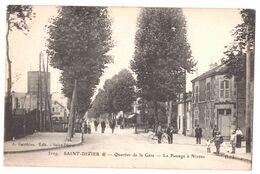 Saint Dizier Quartier De La Gare Le Passage à Niveau - Saint Dizier