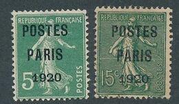 DT-121: FRANCE: Lot Avec Préo N°24/25 NSG - 1893-1947