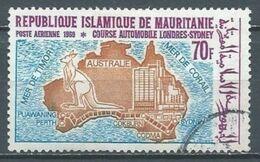 Mauritanie Poste Aérienne YT N°97 Course Automobile Londres-Sydney Oblitéré ° - Mauritania (1960-...)