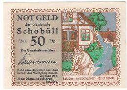 Deutschland Notgeld 50 Pfennig Mehl1194.1 SCHOBULL /98M/ - [11] Lokale Uitgaven
