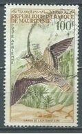 Mauritanie Poste Aérienne YT N°34 Ganga De Lichtenstein Oblitéré ° - Mauritanie (1960-...)