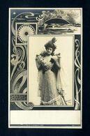 1900s Postcard Fantasy Beauty Women - Women