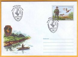 2006 Moldova ; Moldavie ; Moldau Hunters. Anglers. Ducks. Dog. FDC. - Ducks