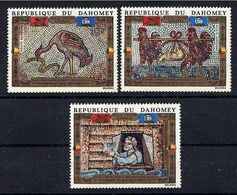 DAHOMEY 1972 - AYUDA A VENECIA DEL HUNDIMIENTO - YVERT Nº 157-159** AEREOS - Benin – Dahomey (1960-...)