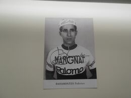 SANTA DOMINGO: Cycliste - Federico Bahamontes - (FOTO !!!!!) - Ciclismo