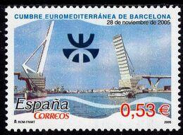 Spain - 2005 - Euro - Mediterranean Summit In Barcelona - Mint Stamp - 2001-10 Neufs