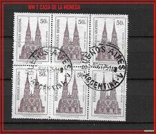 ARGENTINA 1975 Lujan Basilica BUEOS AIRES, WM CASA DE LA MONEDA USED GJ - Argentina