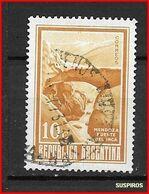 ARGENTINA 1971 Viste Del Paese  PUENTE DEL INCA GJ 1535 WM CASA DE LA MONEDA - Argentina