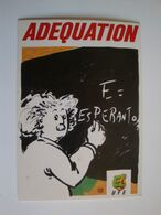 "Esperanto,la  Langue Internationale,""Adequation"", - Esperanto"