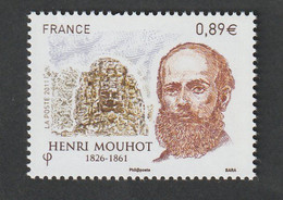 TIMBRE -  2011  -   N°  4629   -   Personnalité  Henri Mouhot -   Neuf Sans Charnière - Nuovi