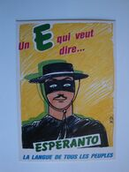 "Esperanto,la  Langue Internationale"" Un E Qui Veut Dire..."" - Esperanto"