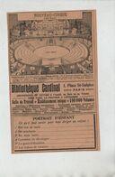 Nouveau Cirque  1904 Bibliothèque Cardinal Paris - Unclassified