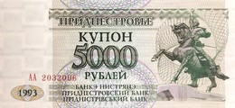Transnistria 5.000 Rubles, P-24 (1993) - UNC - Moldavia