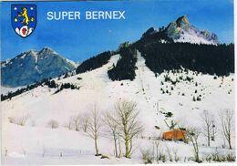 HAUTE-SAVOIE - BERNEX - Téleski De Super-Bernex + Blason - Altri Comuni
