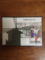 Guyana Olympic Barcelona Summer 1992 Block MNH** - Zomer 1992: Barcelona
