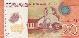 Nicaragua P.210  20 Cordobas 2014  Unc - Nicaragua